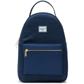 Herschel Nova Small Backpack 17L, medieval blue crosshatch/medieval blue